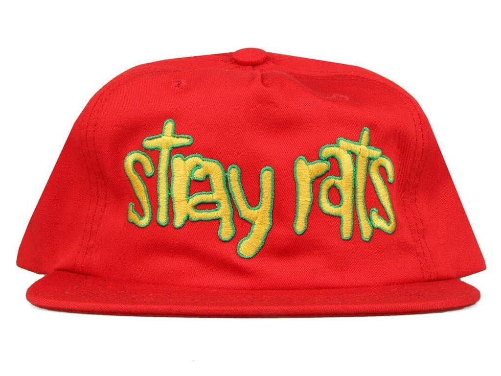 Stray Rats BRAINS SNAPBACK Red