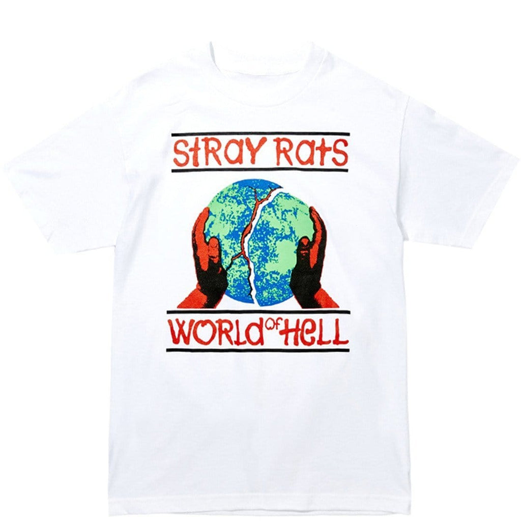 Stray Rats WORLD OF HELL TEE White