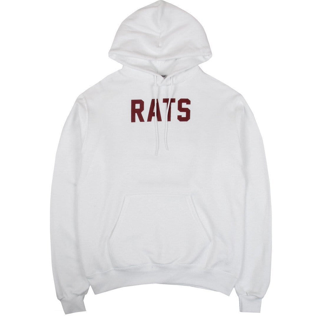 Stray Rats S.R HOODIE White