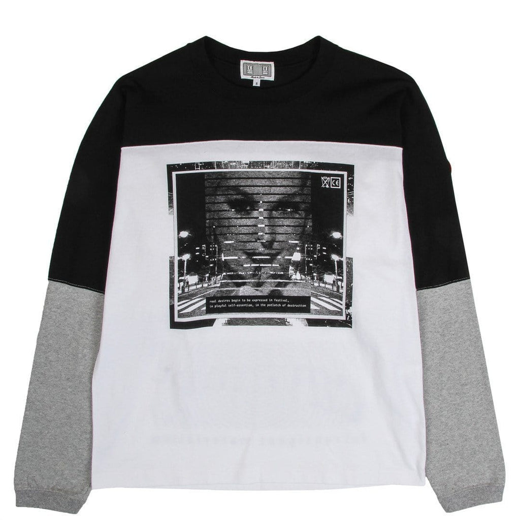 Cav Empt P.O.D LONG SLEEVE T White
