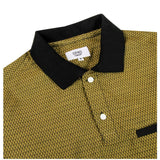 Grind London HERRINGBONE POLO Yellow