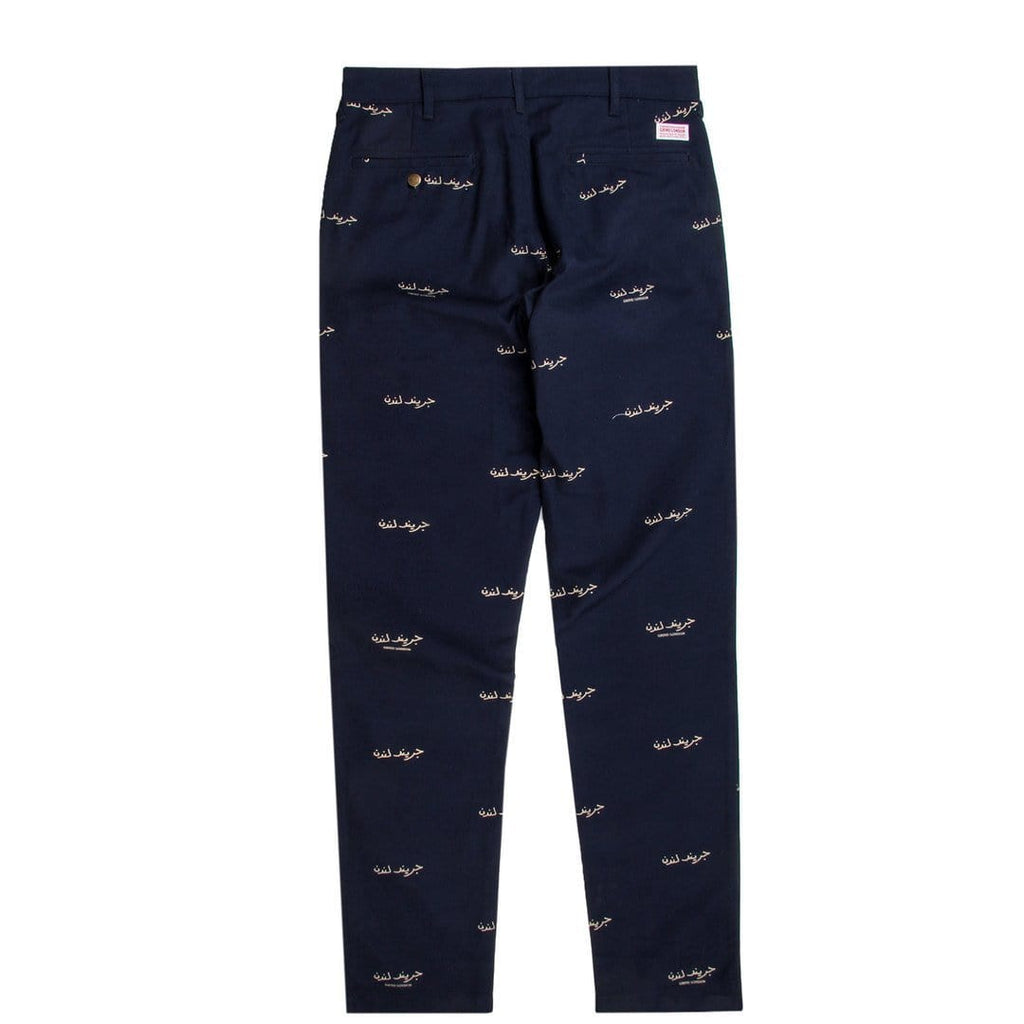 GRIND LONDON CANVAS Pants Navy
