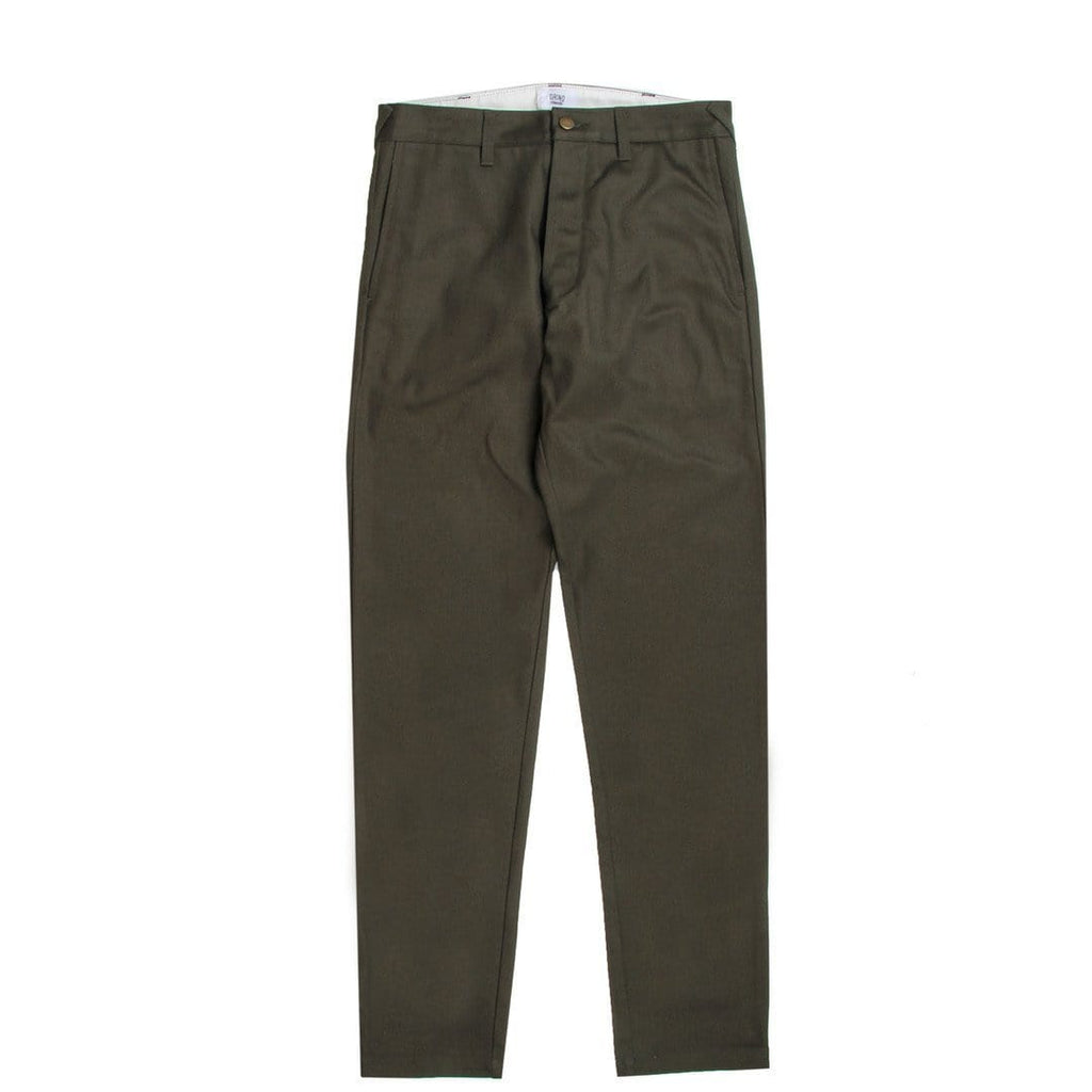 Grind London JAPANESE SELVEDGE Pants Green