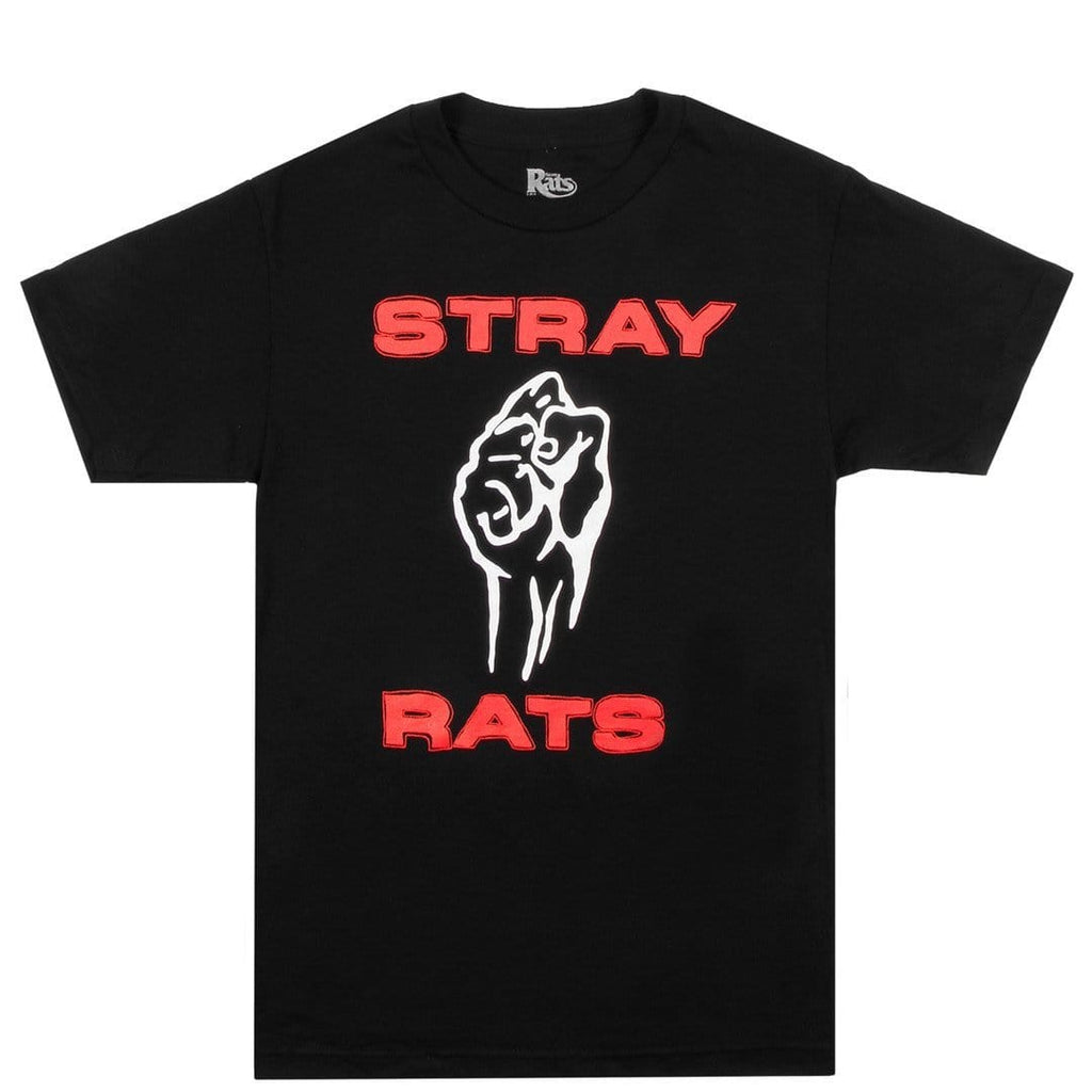 Stray Rats FIST TEE Black
