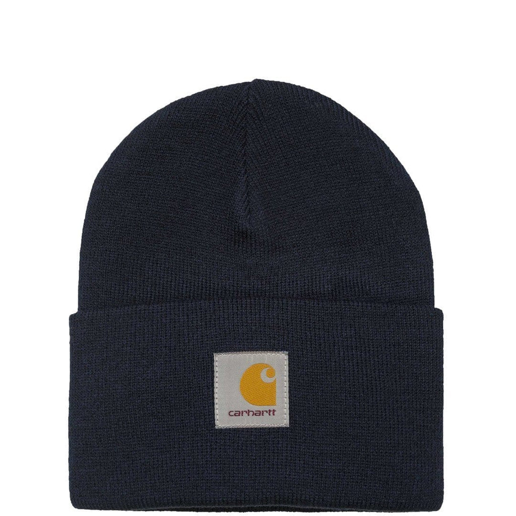 Carhartt W.I.P. ACRYLIC WATCH HAT Navy