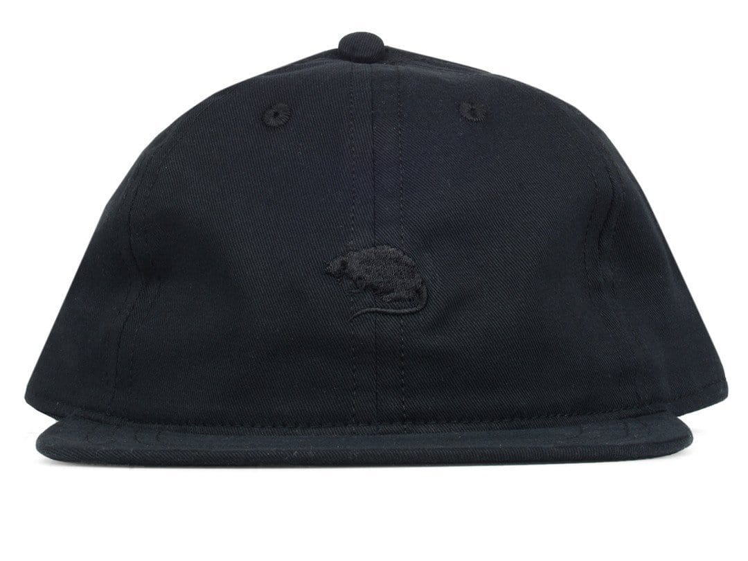 Stray Rats 6 PANEL LOGO HAT Black