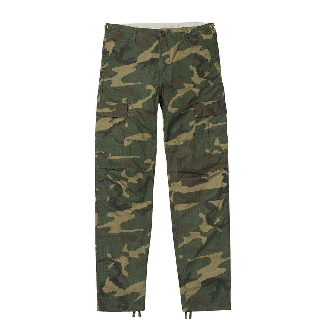 Carhartt W.I.P. AVIATION PANT Camo Laurel