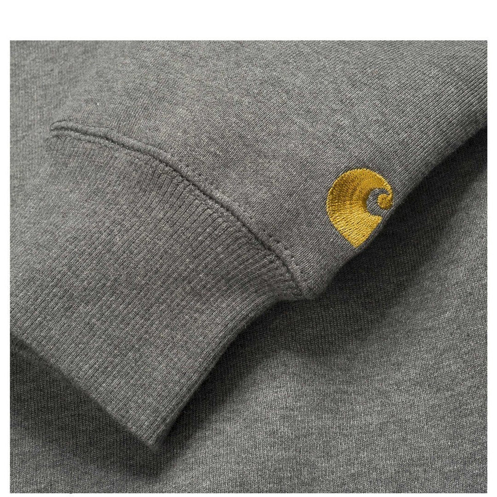 Carhartt W.I.P. CHASE SWEATSHIRT Dark Grey Heather