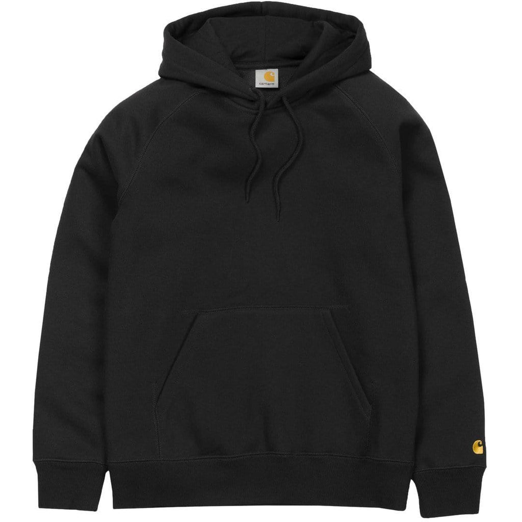Carhartt W.I.P. HOODED CHASE SWEATSHIRT Black