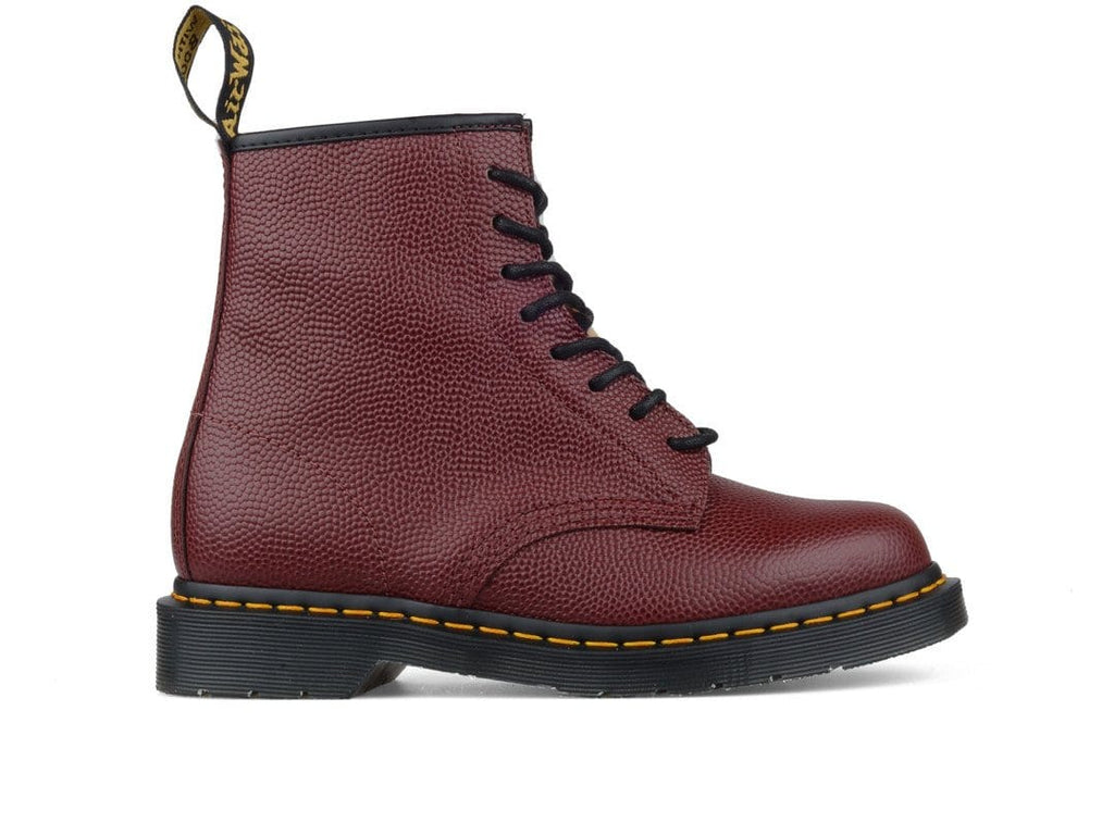 Doc Martens x STÜSSY 1460 BOOT Cherry Red/Leopard