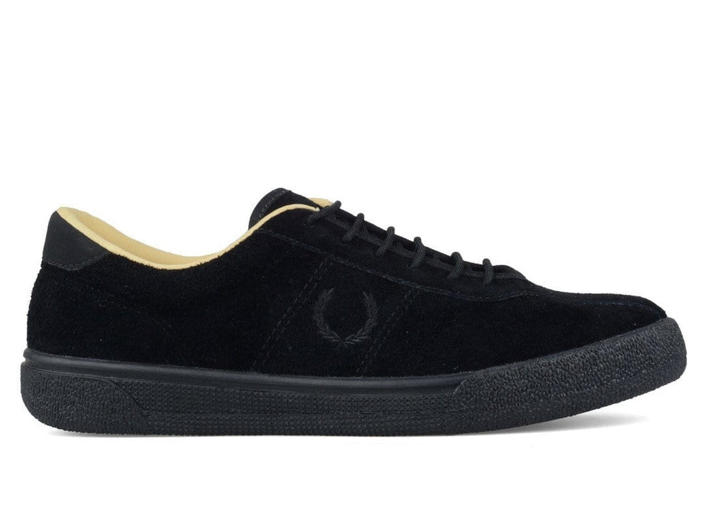 FRED PERRY EXHIBITION TENNIS SHOE 1 SUEDE Black