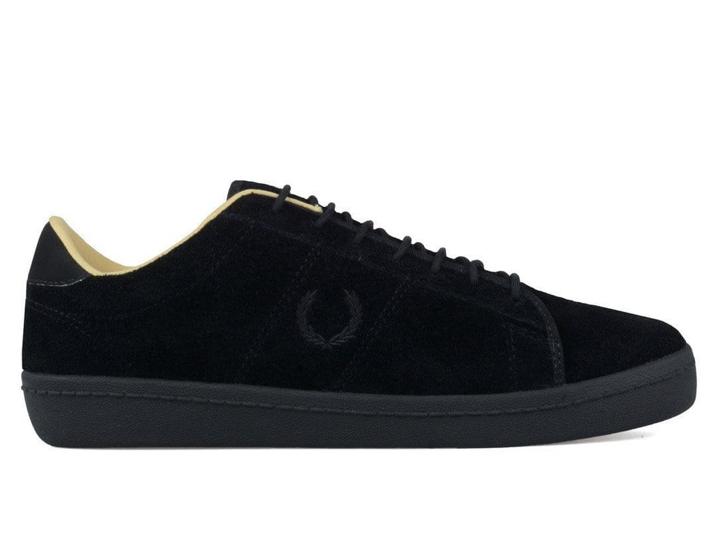 FRED PERRY EXHIBITION TENNIS SHOE 2 SUEDE Black