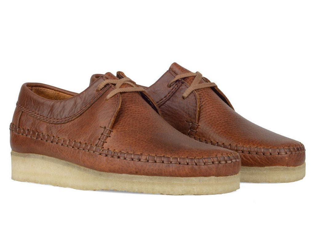 Clarks WEAVER Tan Leather