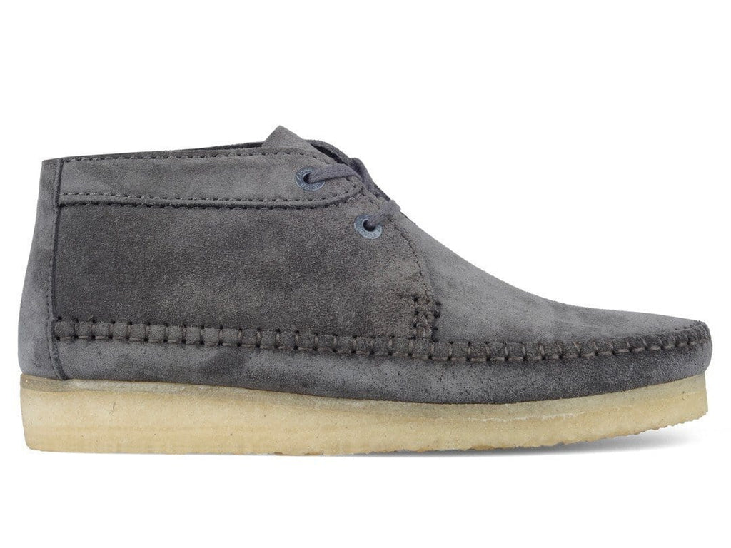 Clarks WEAVER BOOT Charcoal Suede