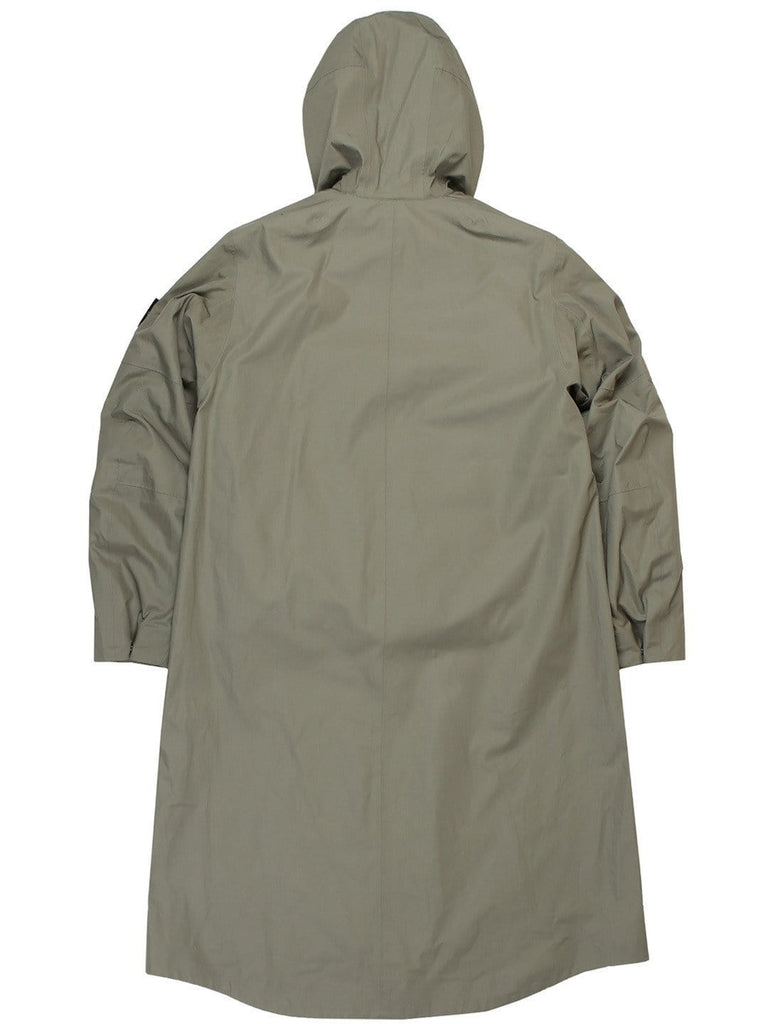 Stone Island COAT WITH DETACHABLE DOWN LINING Sage