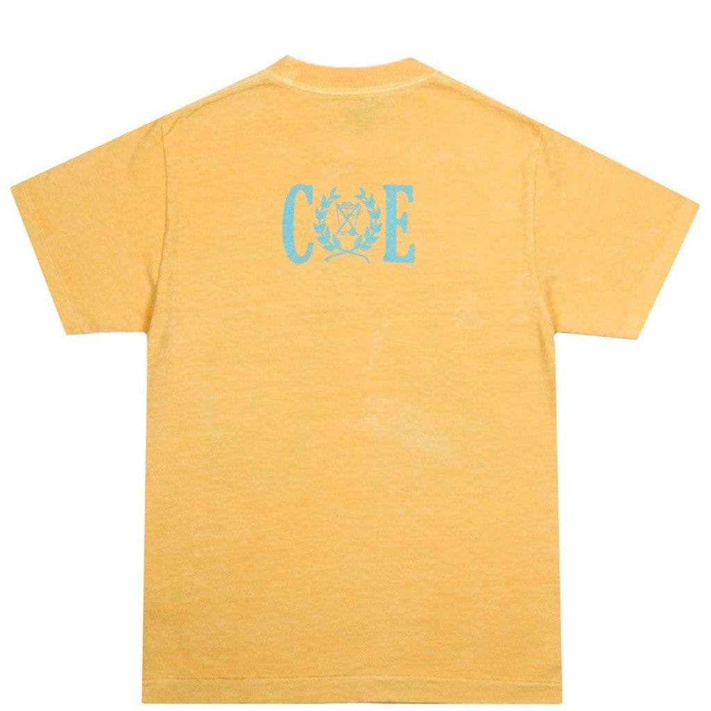 Cav Empt OVER DYE T #1 Yellow