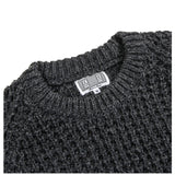Cav Empt LOOSE WAFFLE KNIT Charcoal