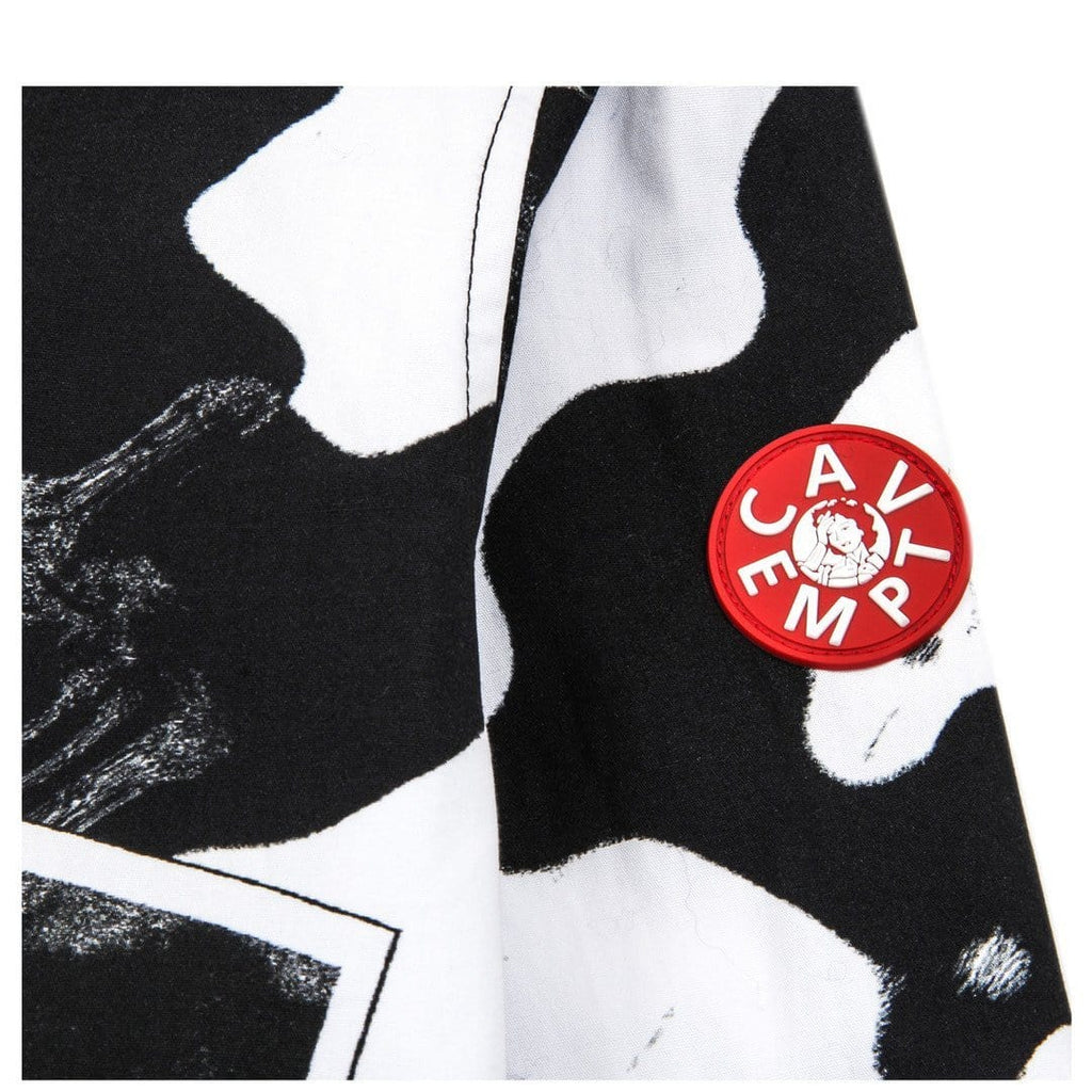Cav Empt ABOLISHED SHIRT White/Black