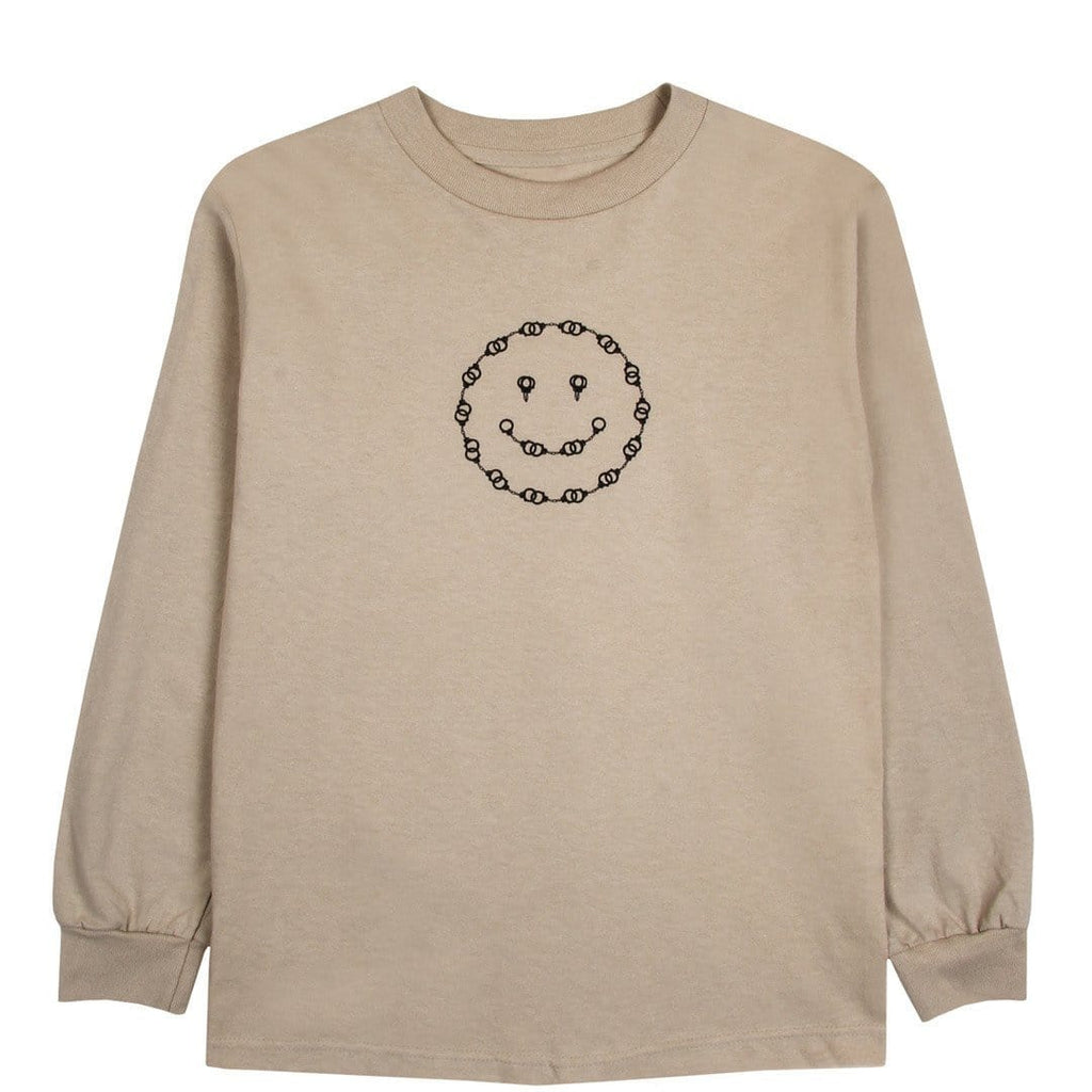 Pleasures SMILEY LONG SLEEVE Tan