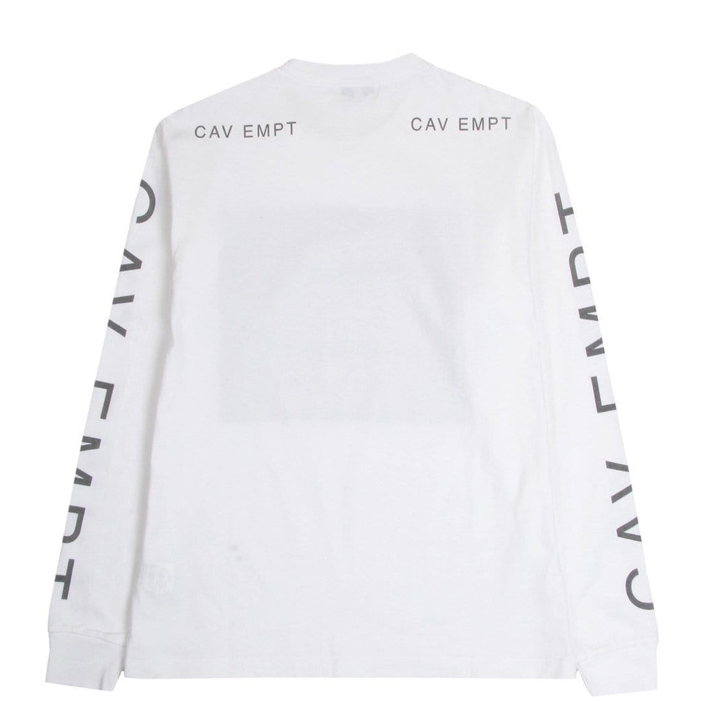 Cav Empt I.M LONG SLEEVE T White
