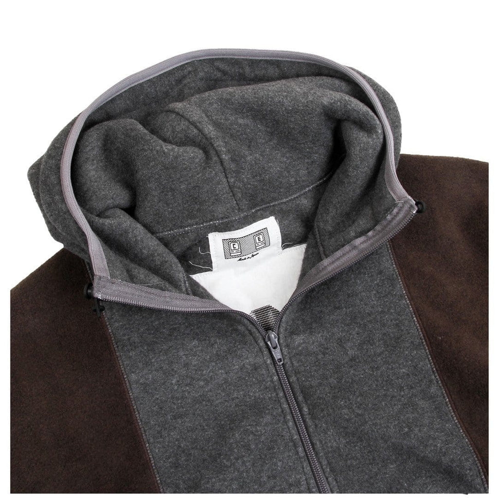 Cav Empt PULLOVER LIGHT FLEECE #5 Brown/Grey