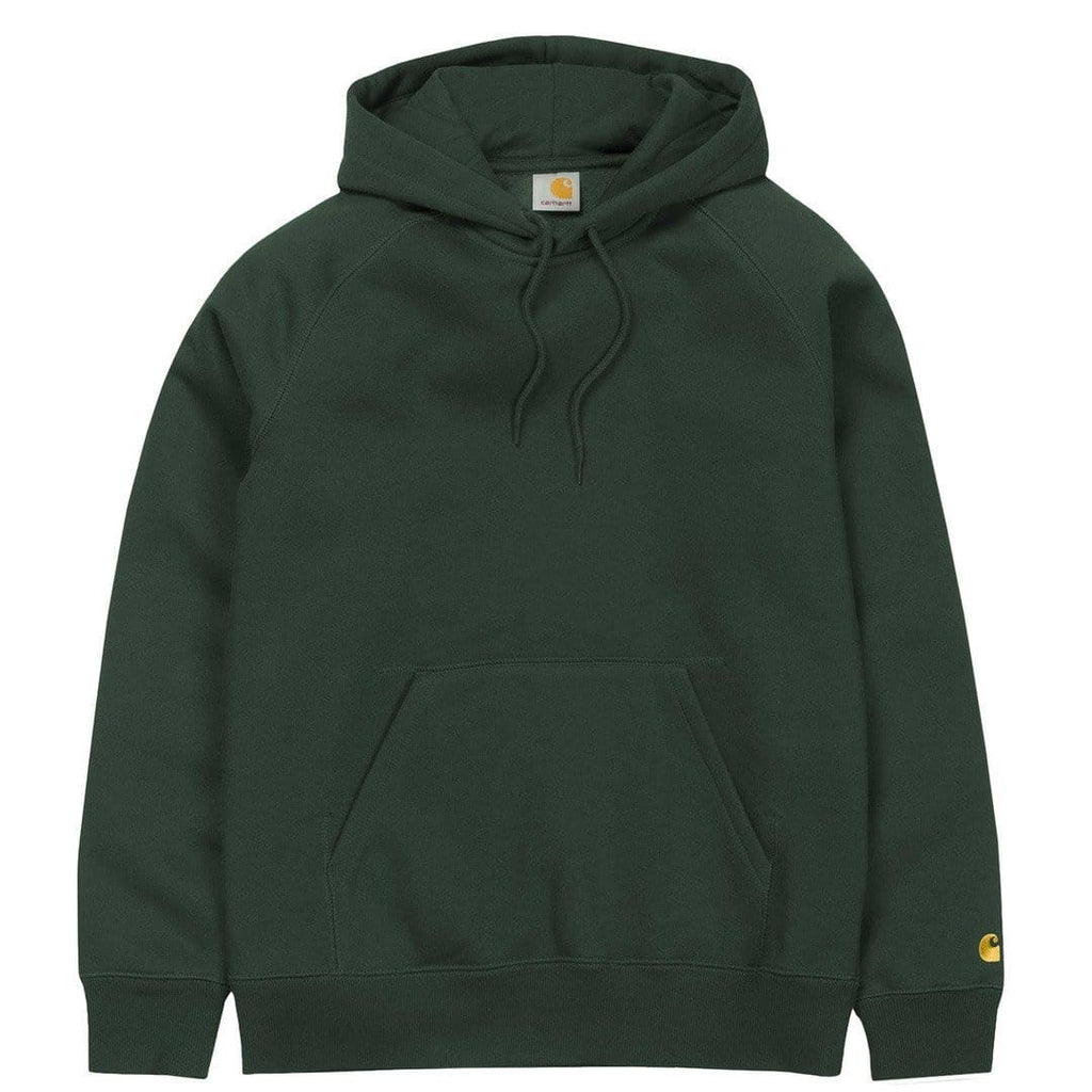 Carhartt W.I.P. HOODED CHASE SWEATSHIRT Conifer