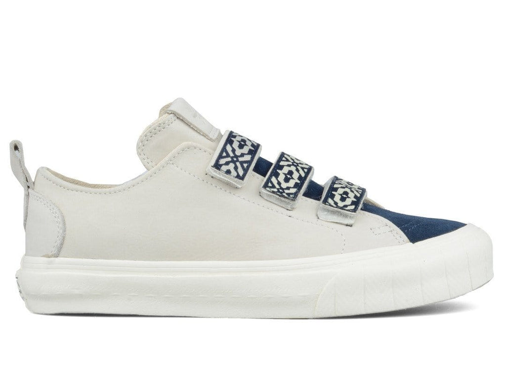 Vans Vault x TH COURT LO STRAP LX (SUEDE/LEATHER) Blues/Marshmallow