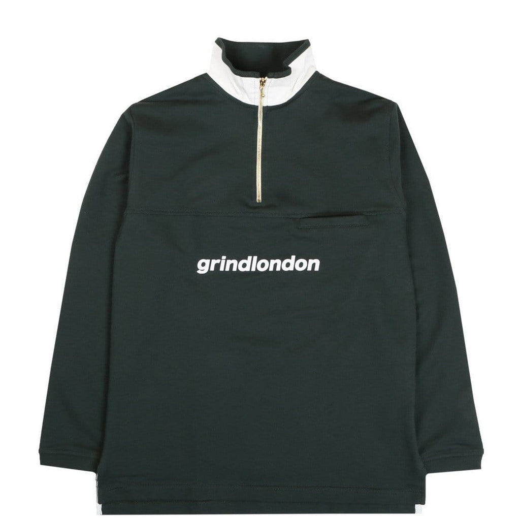 Grind London LOOPBACK COTTON Green/White