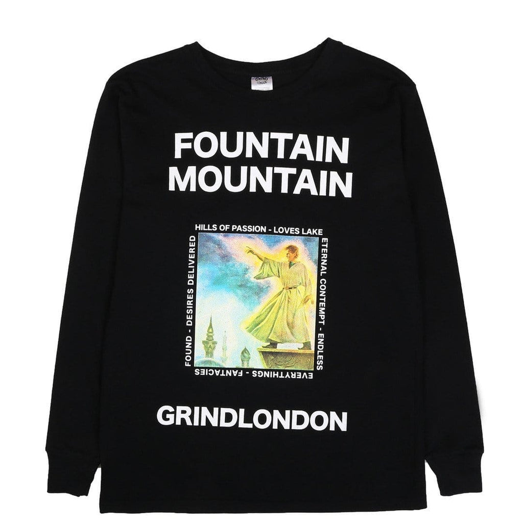 Grind London FOUNTAIN MOUNTAIN Black