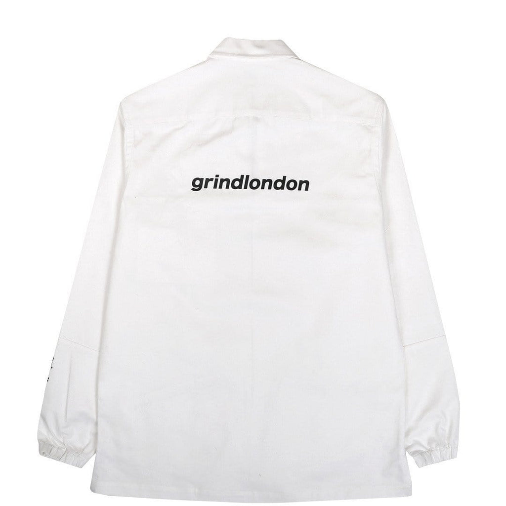 Grind London COTTON PULLOVER White