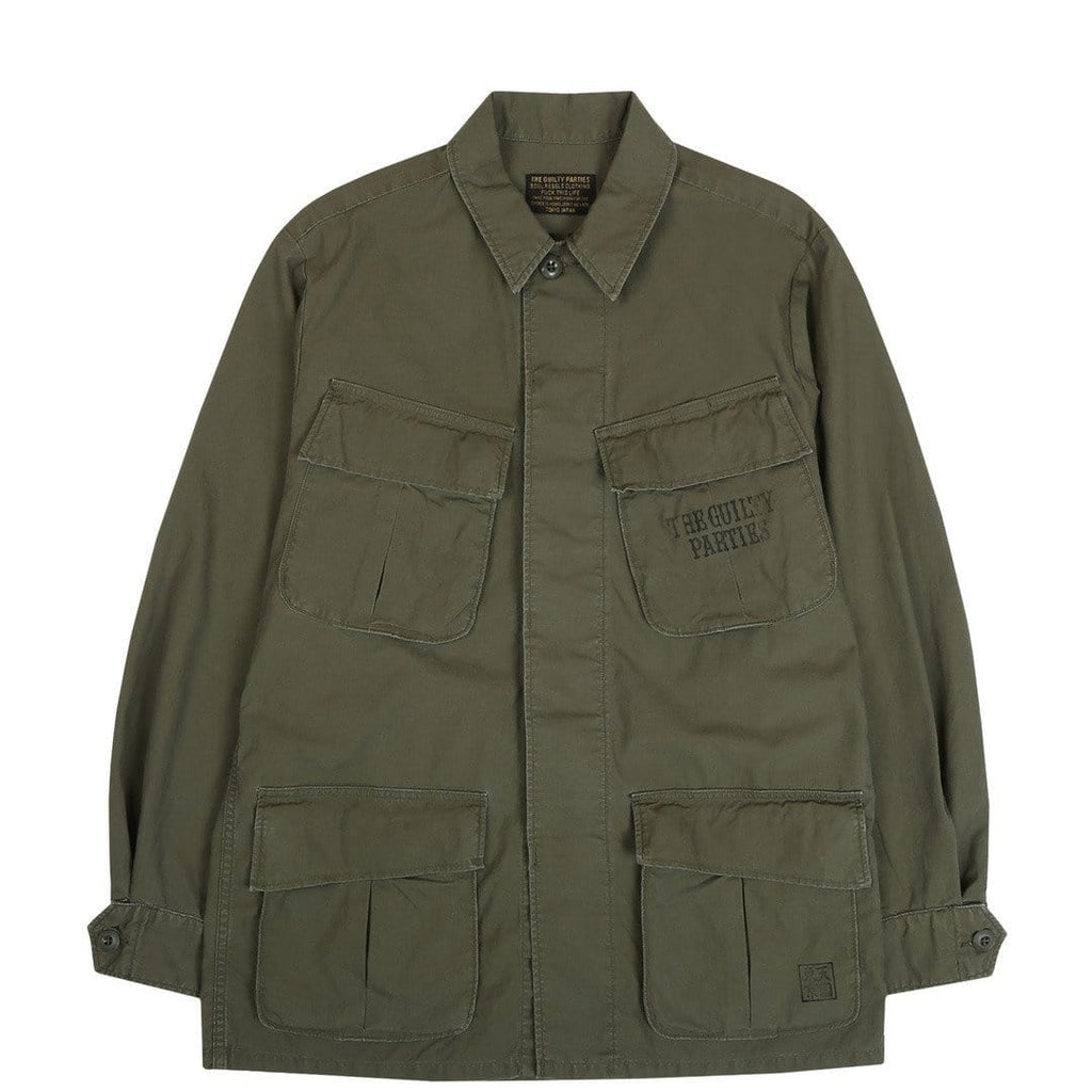 Wacko Maria FATIGUE JACKET1 ( TYPE-7 ) Khaki