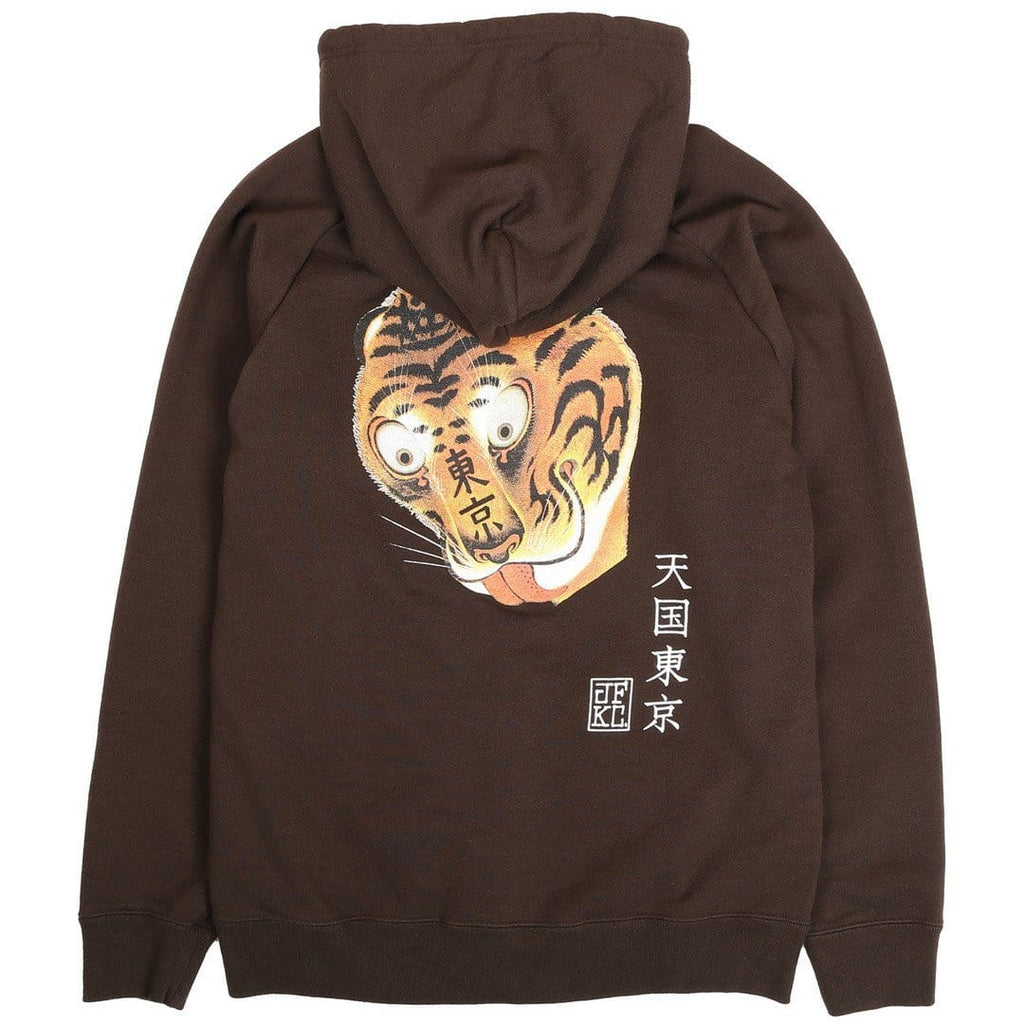 Wacko Maria MIDDLEWEIGHT FULL ZIP HOODED SWEAT SHIRT ( TYPE-5 ) Brown