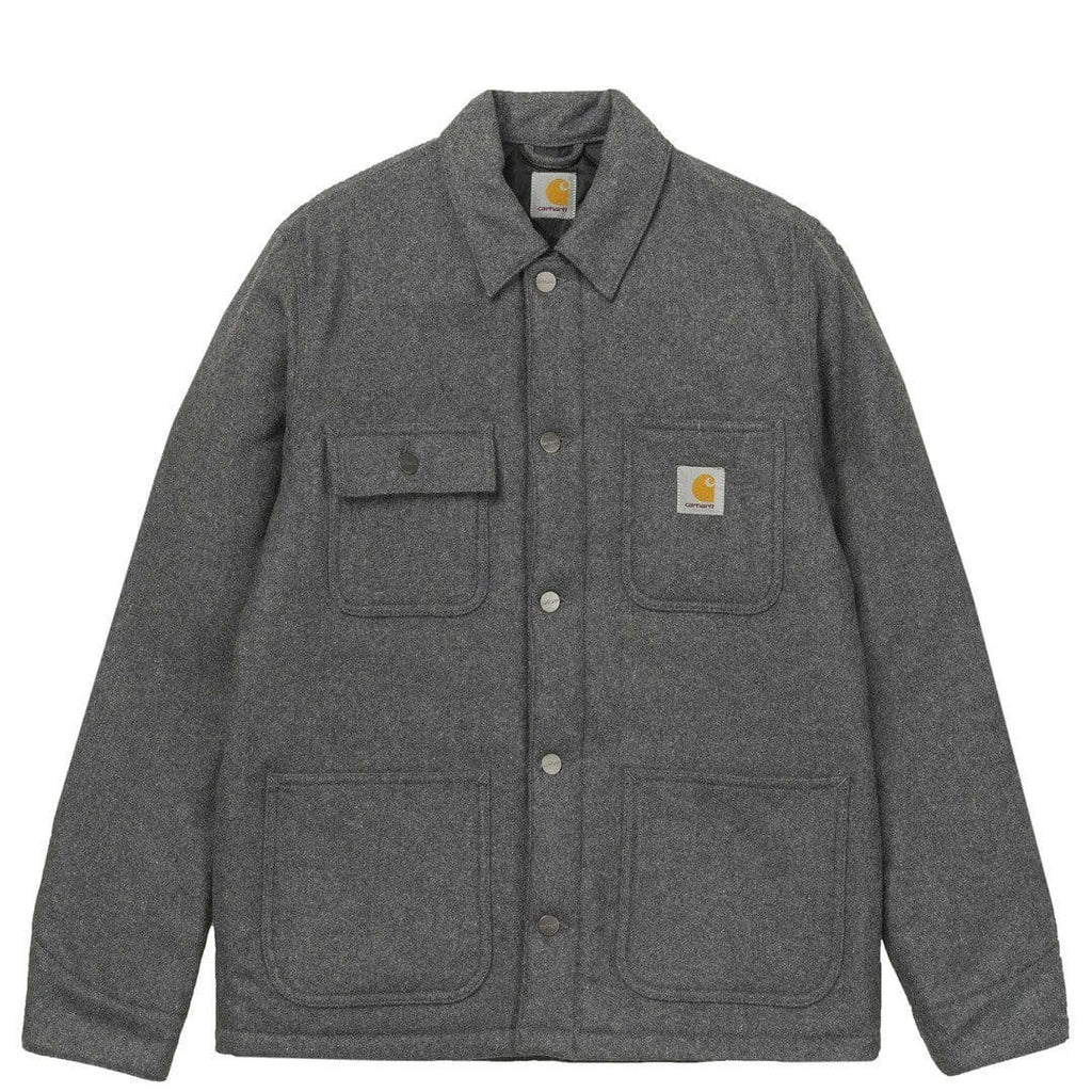 Carhartt W.I.P. MICHIGAN CHORE COAT Dark Grey Heather