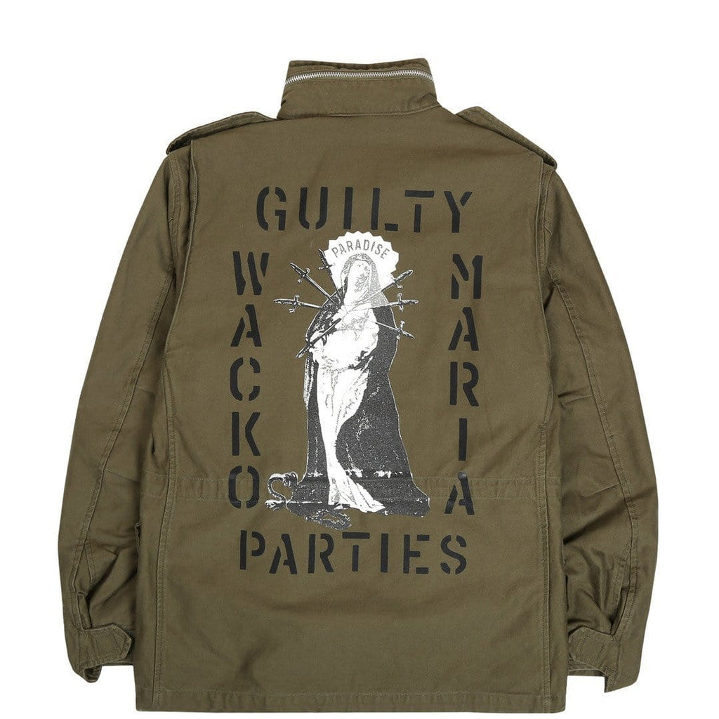 Wacko Maria M-65 FIELD COAT ( TYPE-2 ) Khaki