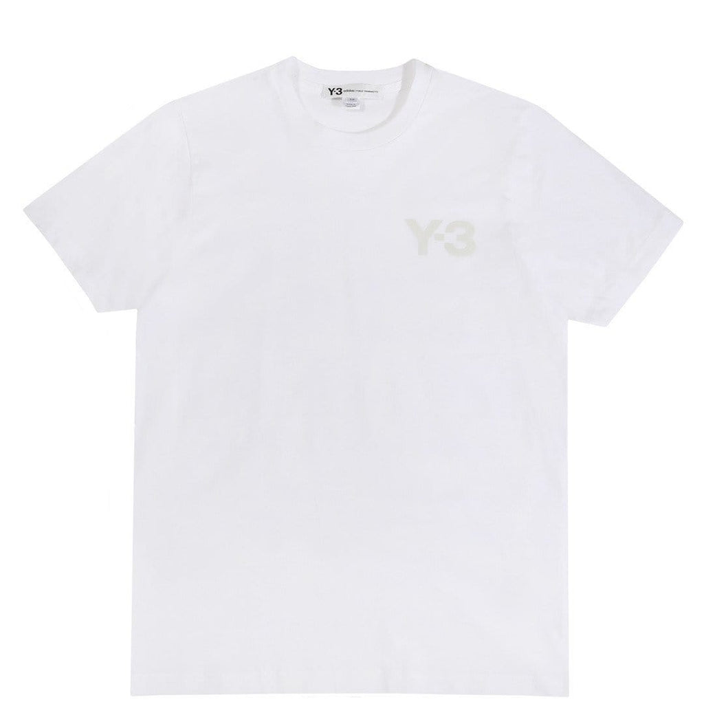 Adidas Y-3 M CL S/S TEE White