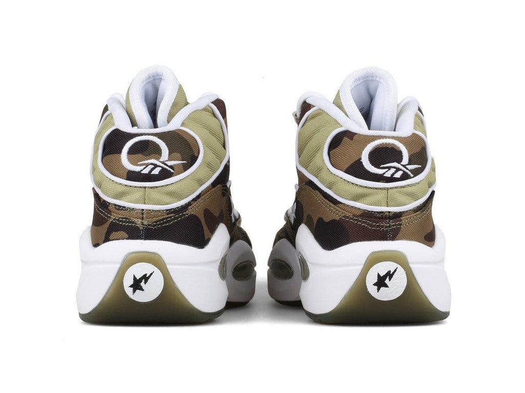 Reebok X Bathing Ape Question Mid BAPE Camo