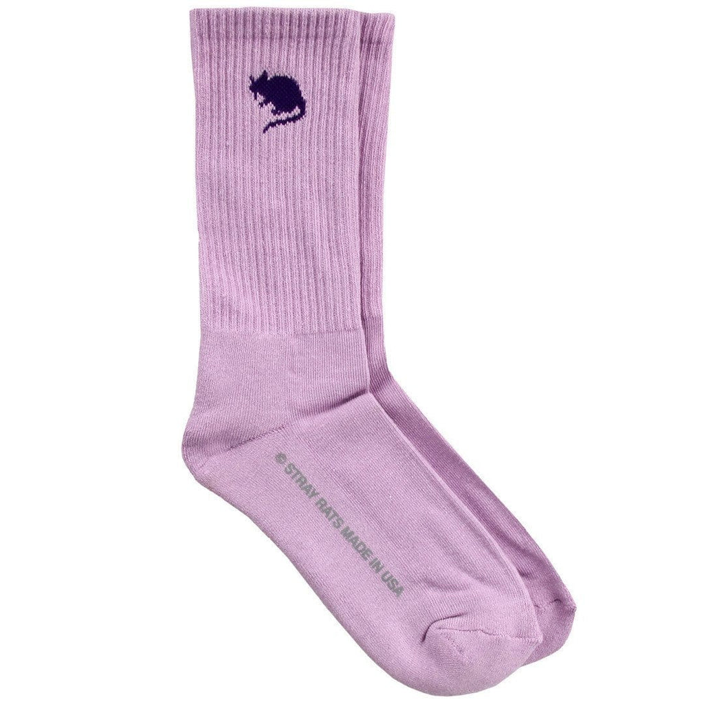 Stray Rats Logo Sock Purple