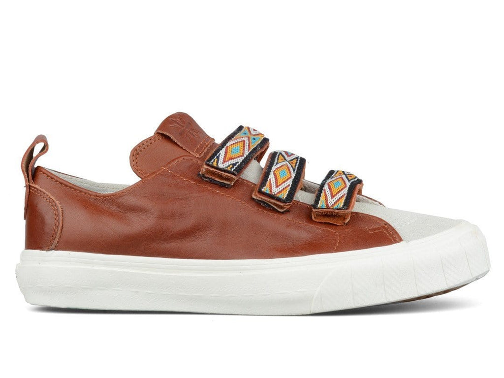 Vans Vault TH COURT LO STRAP LX (SUEDE/LEATHER) Brown/Marshmallow
