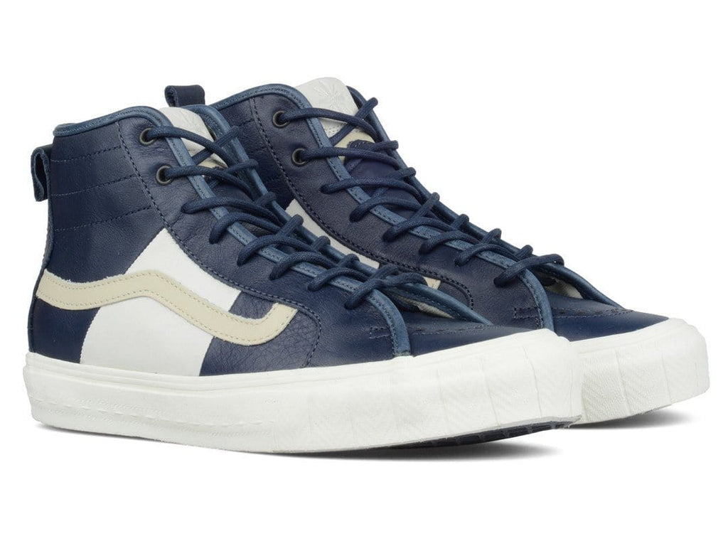 Vans Vault TH COURT HI LX (PRM LEATHER) Parisian Blue