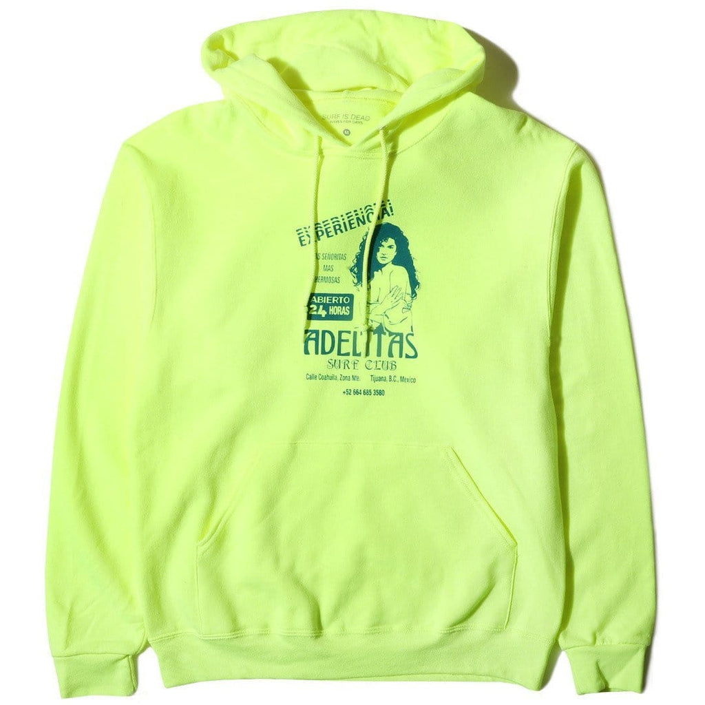 Surf Is Dead ADELITAS HOODIE Florescent Yellow