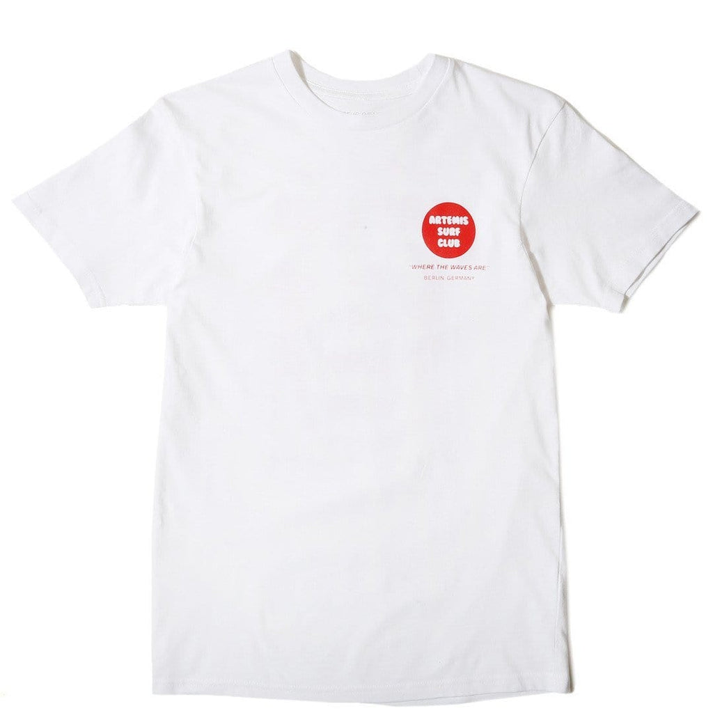 Surf Is Dead BERLIN TEE White