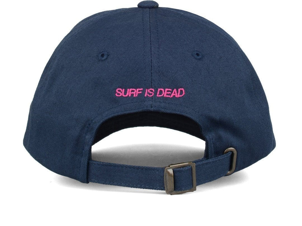 Surf Is Dead STRANGER WAVES HAT Navy