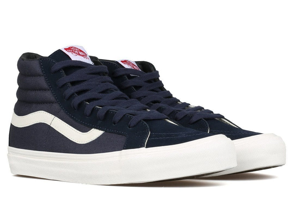 Vans Vault OG SK8-HI LX (SUEDE/CANVAS) Blue Night