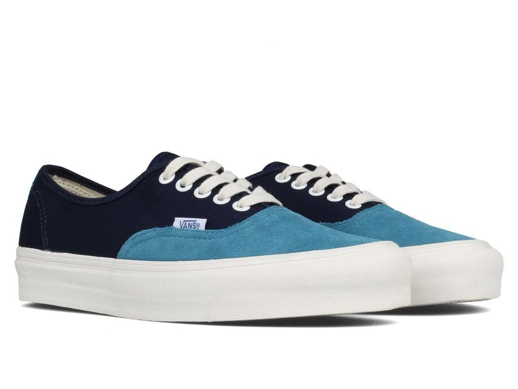 ... Vans Vault OG AUTHENTIC LX (SUEDE/CANVAS) Storm Blue ...