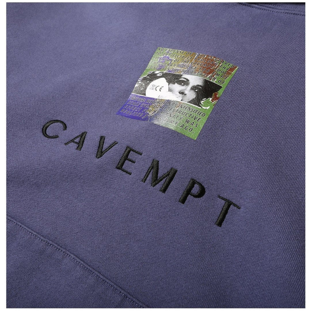 CAVEMPT EMBROIDERY HEAVY HOODY