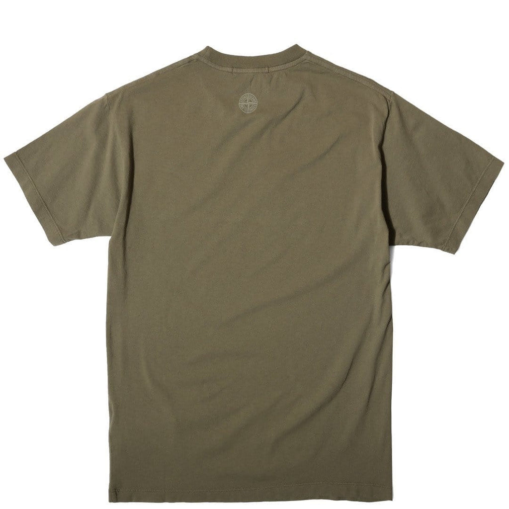 Stone Island INSTITUTIONAL T SHIRT Military Green