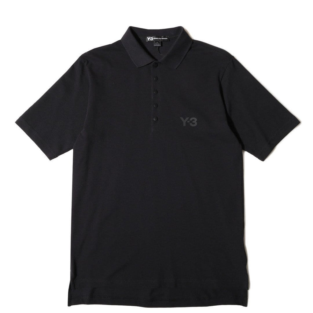 Adidas Y-3 SEASONAL POLO Black