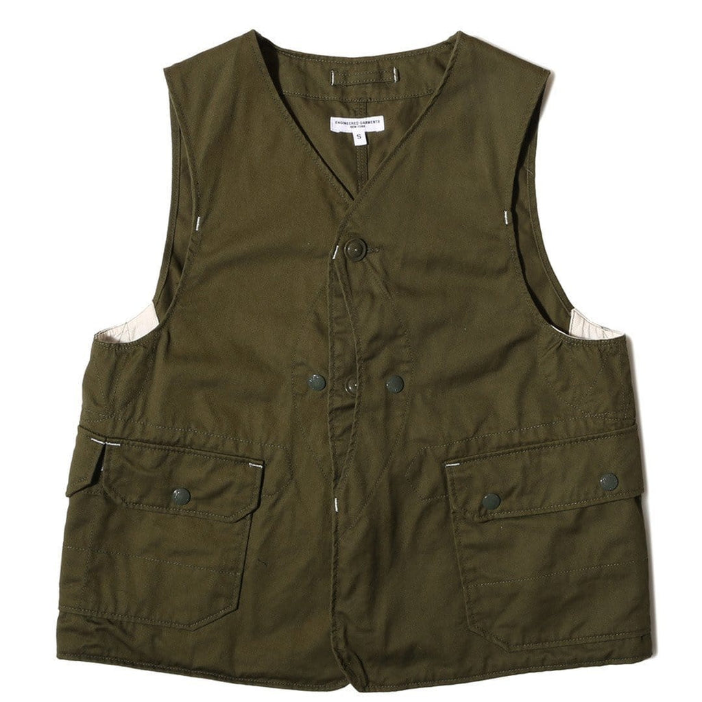 Engineered Garments UPLAND VEST Olive