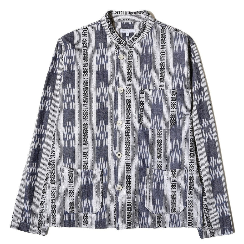 Engineered Garments DAYTON SHIRT Grey/White
