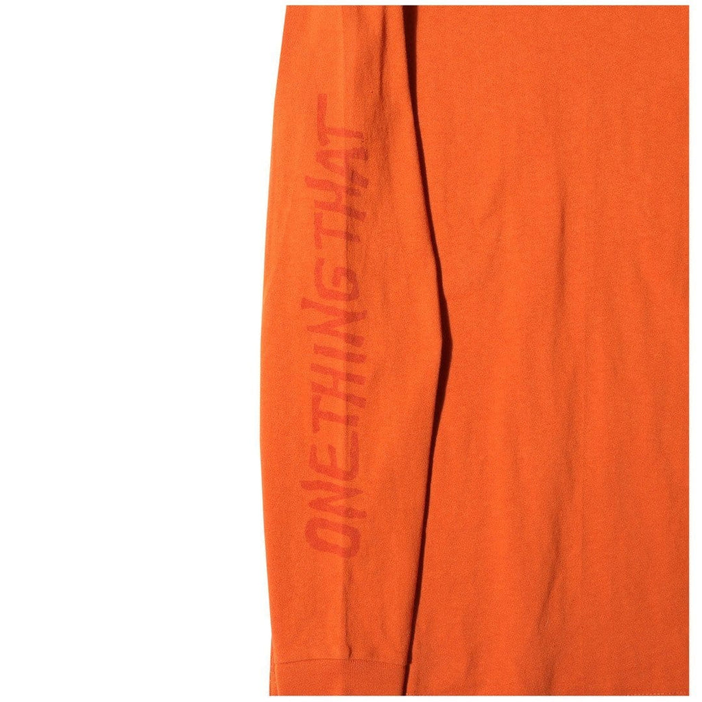 Vans Vault x OUR LEGACY LS TEE OC Orange
